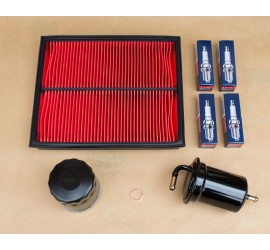 Mazda Bongo 2.0 Petrol 1995 - 2006 Filter Kit & Spark Plugs - OE Specification