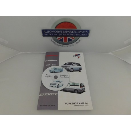 3 0TD WORKSHOP MANUAL & DIAGNOSTIC CODES CD - AutoJap Spares