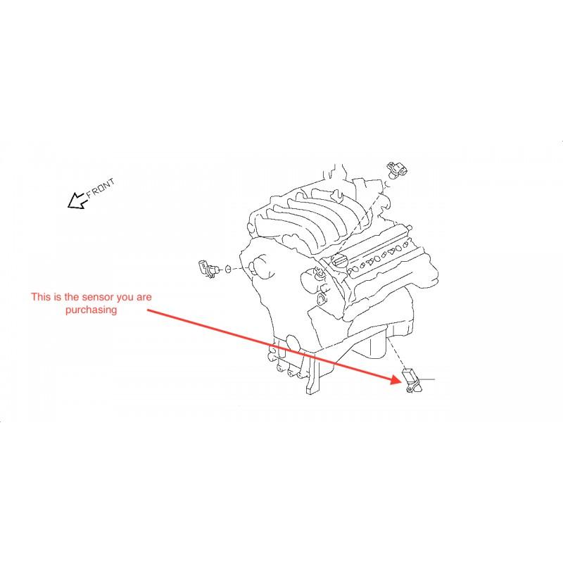E51 2 5i 3 5i V6 Crankshaft Position Sensor - AutoJap Spares