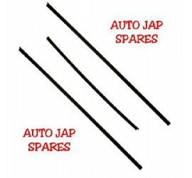 Mitsubishi Delica Front & Rear Wiper Blade Rubber Refills / Inserts x 3