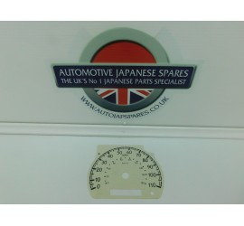 Compatible With Nissan Elgrand E50 3.0TDKPH to MPH Speedo Converter White Face