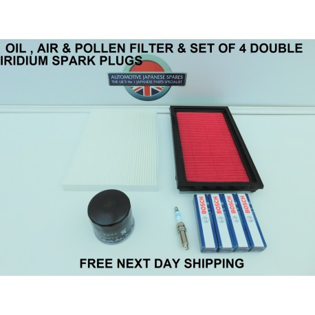 3 PIECE SERVICE KIT WITH SERVICE BOOKLET