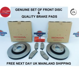 ELYSION  RR1/2/3/4/5 2004 ON FRONT BRAKE DISCS & BRAKE PADS SET