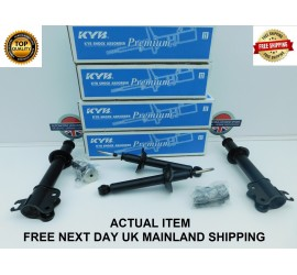 FIGARO COMPLETE SET OF KYB OIL FRONT & REAR SHOCK ABSORBERS / DAMPERS