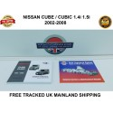 2002-2008 Owners Handbook & Service Booklet