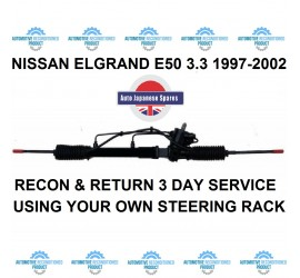 Compatible With Nissan Elgrand E50 3.2 TD Power Steering Rack