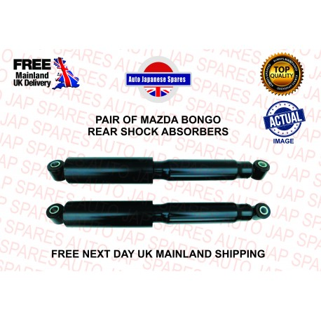 MAZDA BONGO 1995 - 2006 2.0 PETROL PAIR OF REAR SHOCK ABSORBERS AJU584003