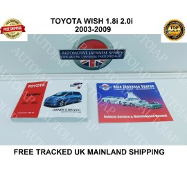 03-09 Wish Owners Manual /Handbook & Free Service Booklet