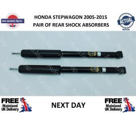 Honda Stepwagon 2.0 2005- 2015 Pair Of Rear Shock Absorbers
