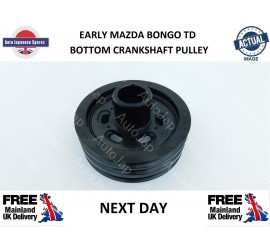 EARLY BONGO 2.5TD BOTTOM CRANKSHAFT PULLEY