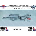 1995-2002 3.0DT 2WD MIDDLE AND TAIL PIPE EXHAUST KIT