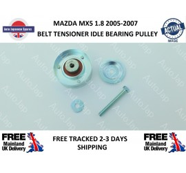 Mazda MX5 1.8 2005 - 2007 Belt Tensioner Idle Bearing Pulley - New (AJU57601)