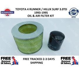 Toyota 4 Runner / Hilux Surf 3.0DT Diesel KZN130 (1KZ-T) Oil & Air Filter Kit