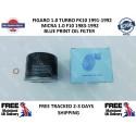 Blueprint Oil Filter & Sump Washer