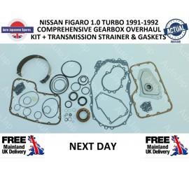 FIGARO OFFSIDE WINDOW MOTOR & GENUINE NISSAN REGULATOR