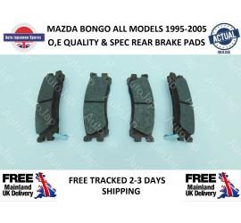 MAZDA BONGO 1995 - 2006 2.0 PETROL REAR BRAKE PADS AJM54271